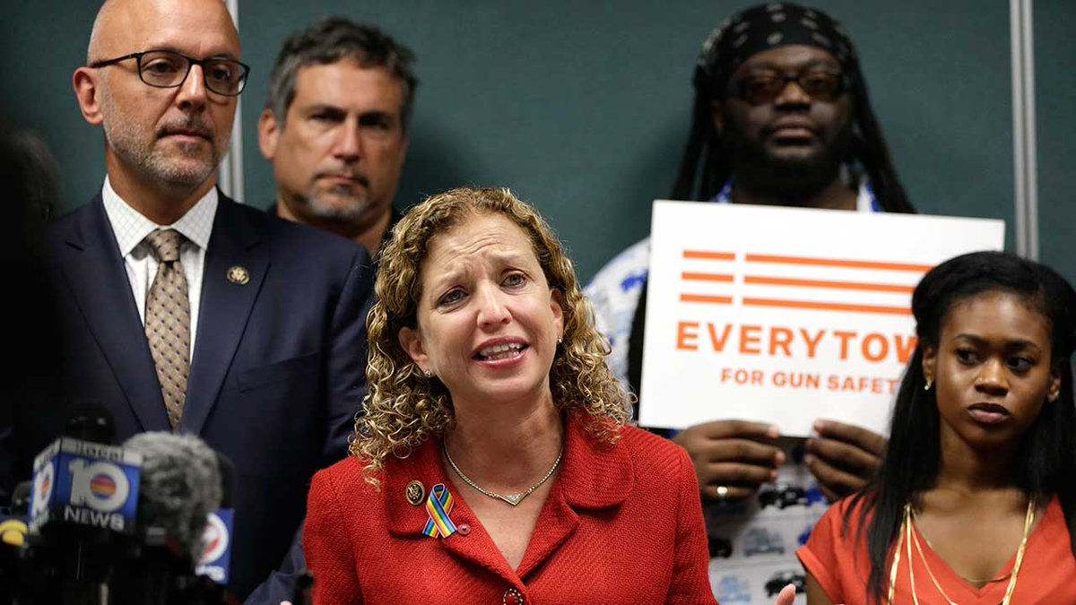 Debbie Wasserman Schultz, Democratic National Committee chair, to step down