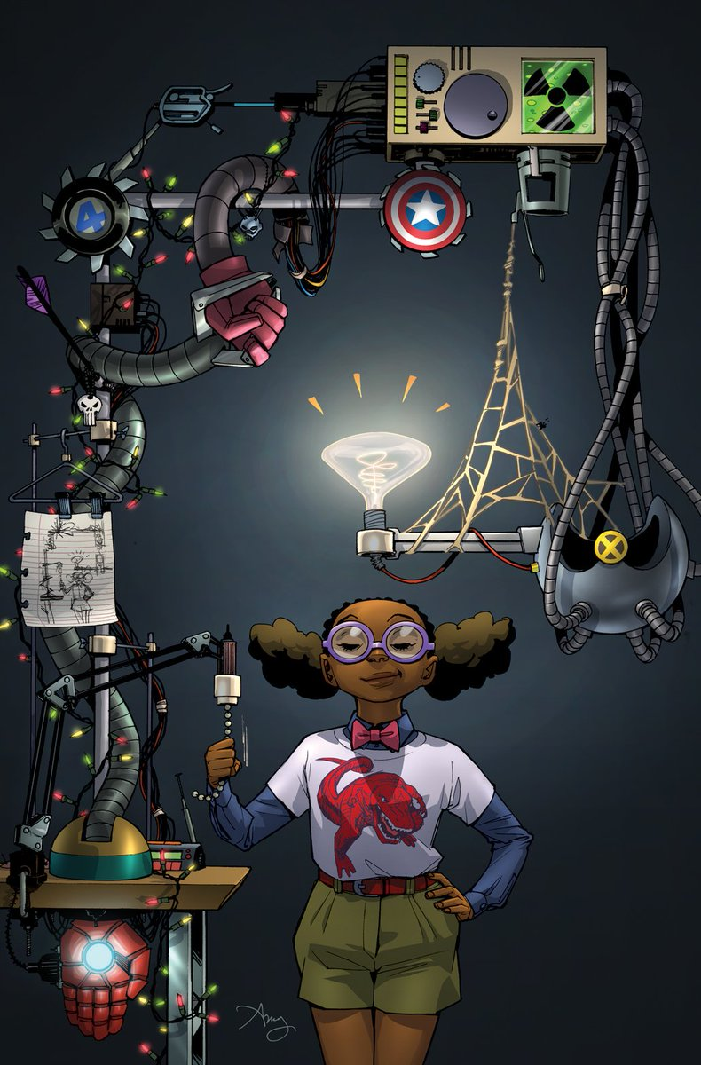 A Young Black Girl Is Now The Smartest Hero In The Marvel Universe