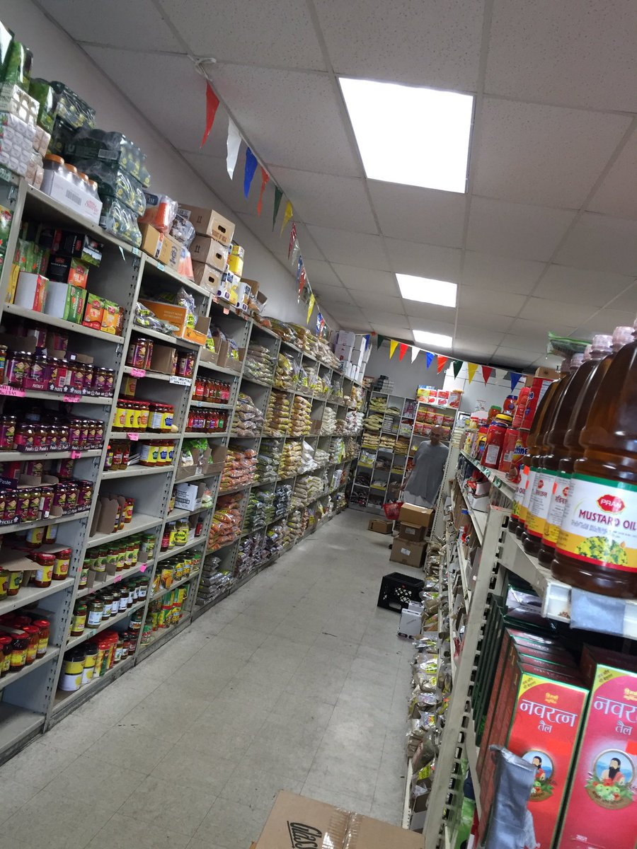 """Dhruv on Twitter """"at my local Indian grocery store and everything"""