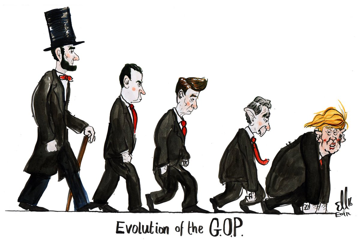 Image result for trump evolution