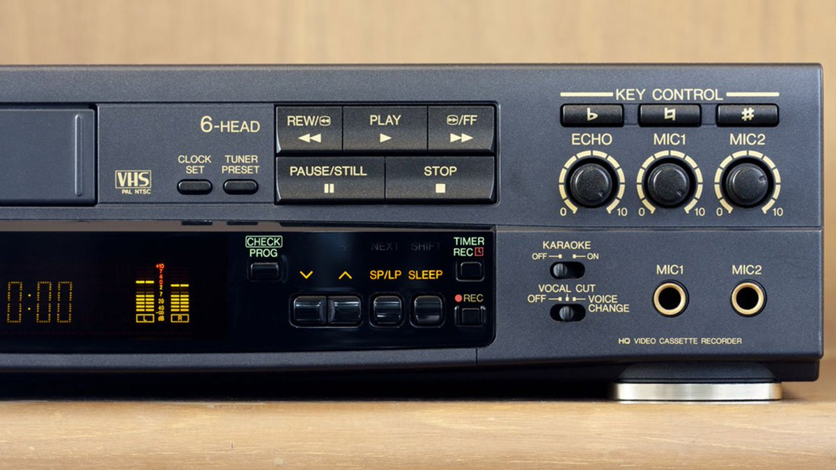 RIP VCR -- the world's final VCR is set to be manufactured this month.
