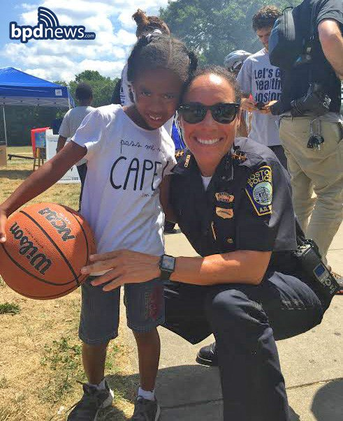For the men and women of the BPD - building relationships and caring about kids is something we do everyday!!!