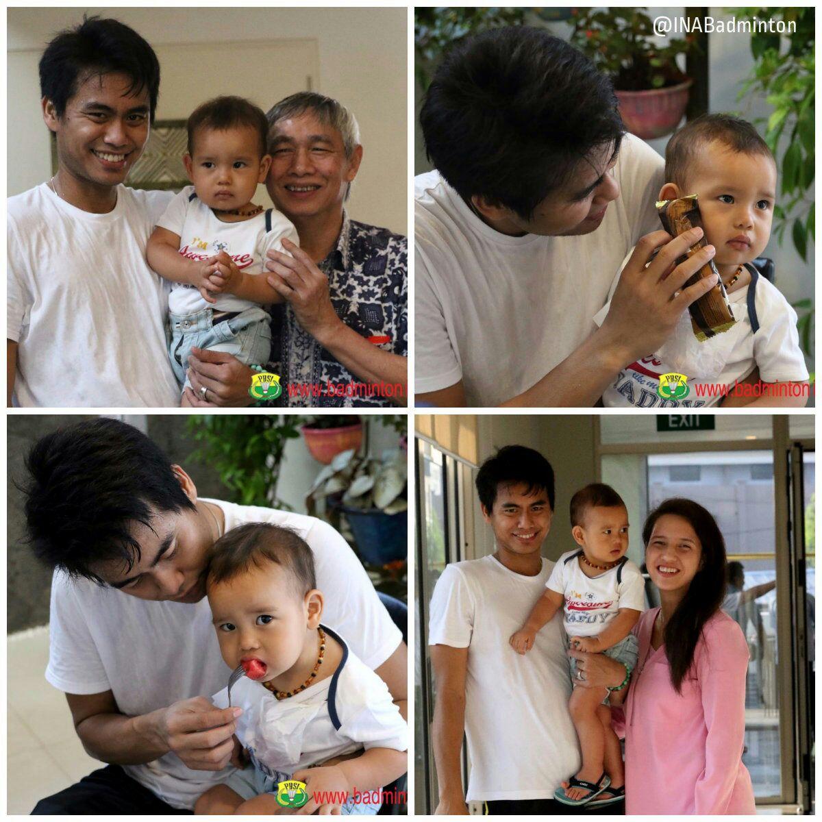 """BADMINTON INDONESIA on Twitter """"Keluarga Tontowi Ahmad dan"""