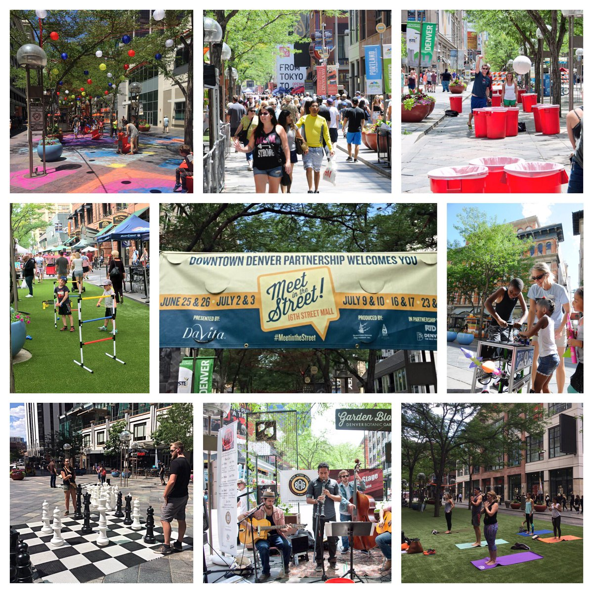 That's a wrap! Thanks for joining us for 5 amazing weekends of MeetintheStreet to reimagine the 16thStreetMall!
