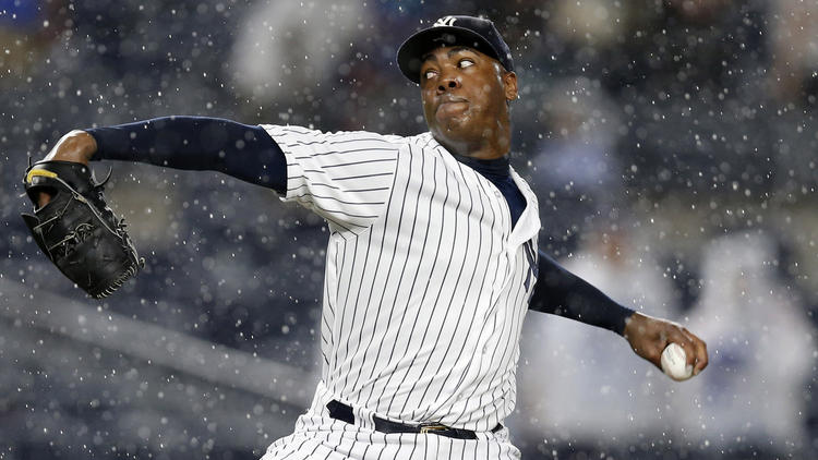 Cubs in final stages of talks to acquire marquee closer Aroldis Chapman from Yankees