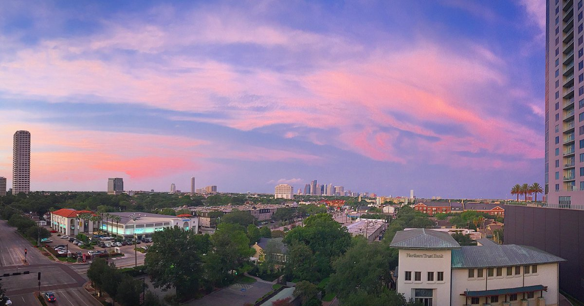 Now that's how you end the weekend!! Looking good Houston!! sunset abc13eyewitness