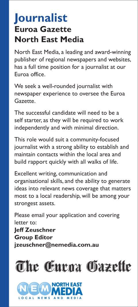 newspaper reporter cover letter