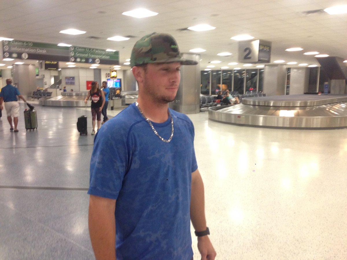 Alex Bregman has arrived in Houston. @KPRC2