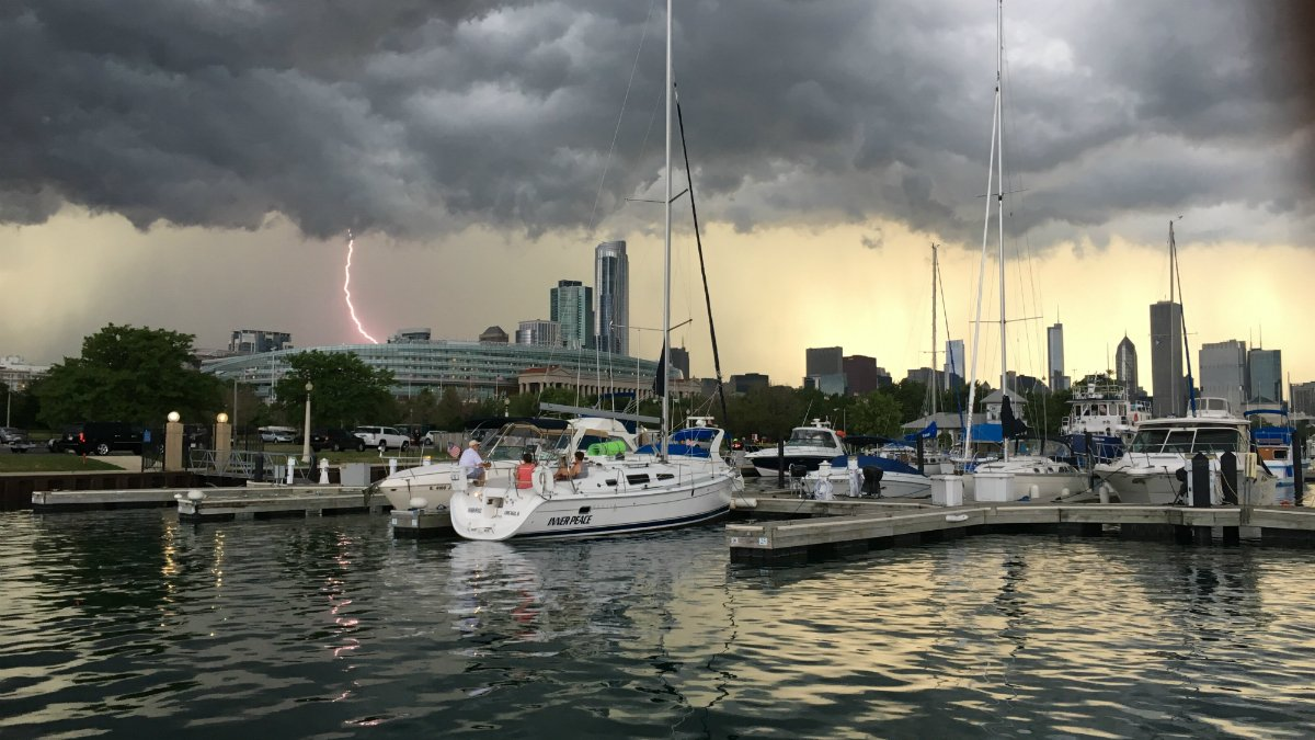 We're getting some seriously amazing pictures in the newsroom of tonight's storms