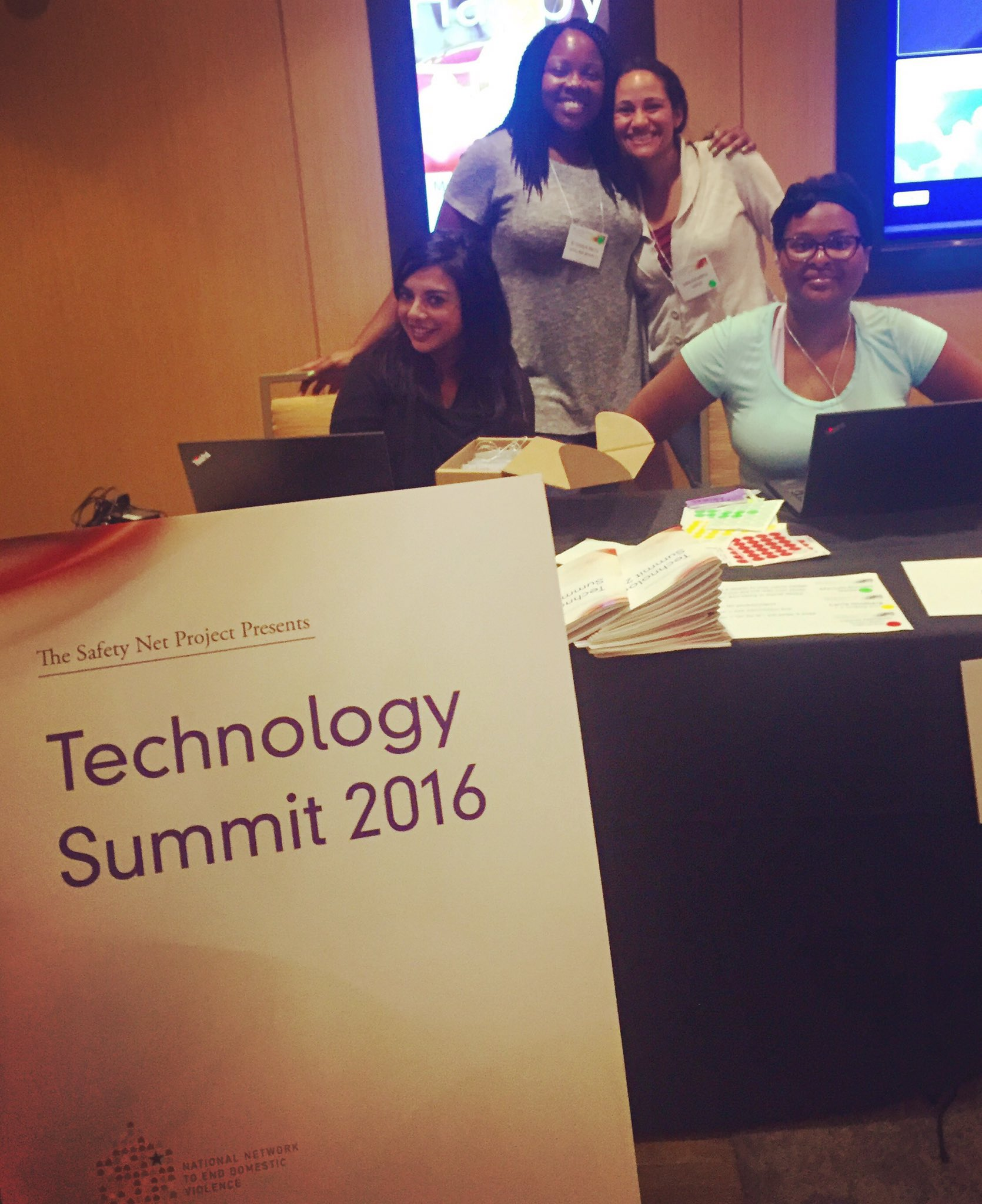 #Techsummit16 is NOW! 🎉 Follow along using #techsummit16 to learn more about #techsafety. 💻 https://t.co/g2QM6EYpIn