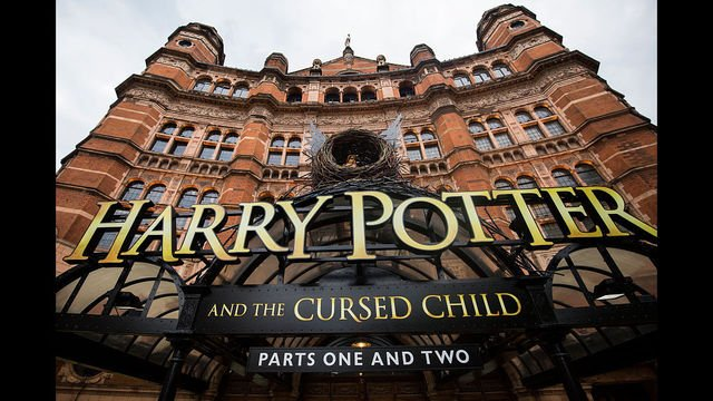 Curtain's up on 'Harry Potter and the Cursed Child'