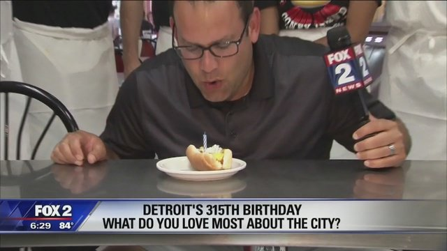 Detroit celebrates 315th birthday, @RyanEFox2 has the story.