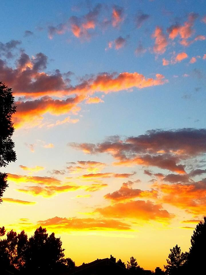 Heaven is a Colorado sunset.