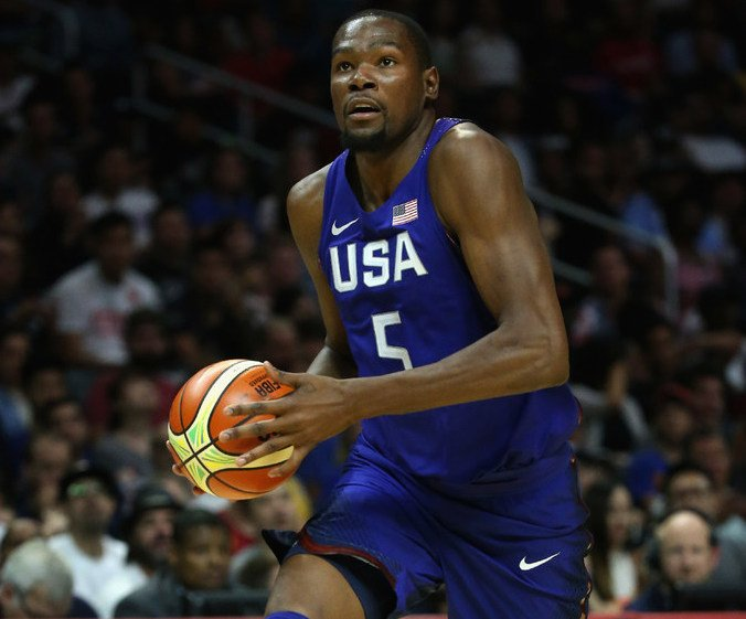 Durant leads USA rout over China in exhibition