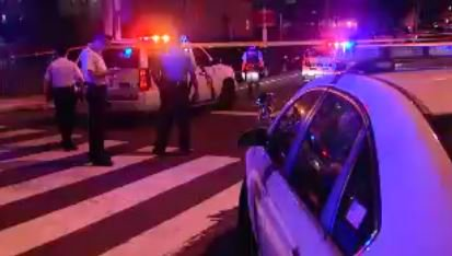 Man shot and killed in crowded Penn's Landing area late Sunday night.