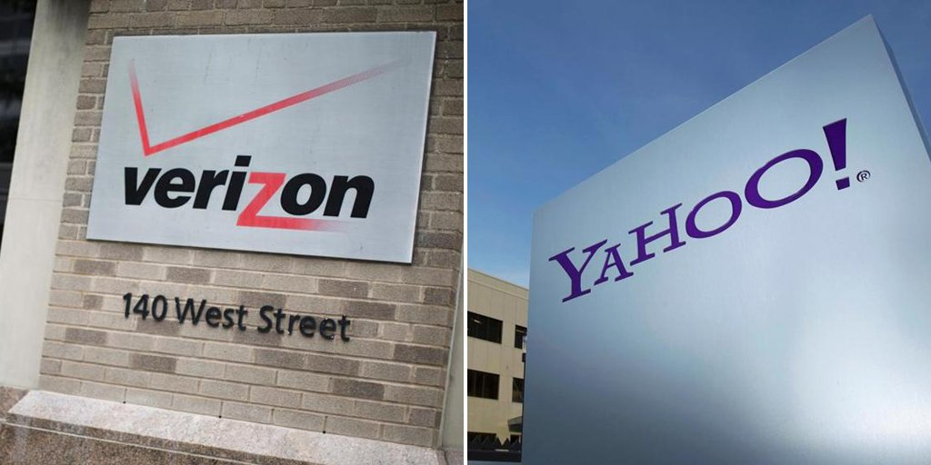 Expected later today: An announcement of Verizon's purchase of Yahoo