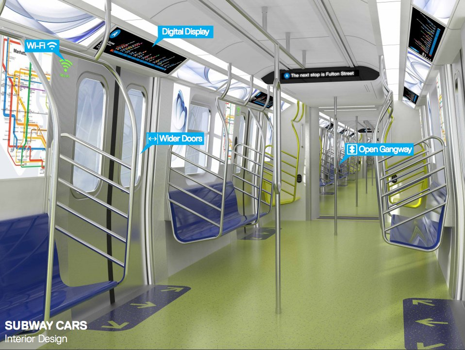 Check out the high-tech upgrades coming to the NYC subway