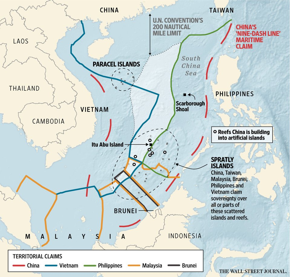 exclusive economic zone and south china China promulgated its law on the exclusive economic zone and the continental shelf in 1998 after it had ratified the united nations convention on the law of the sea in 1996.