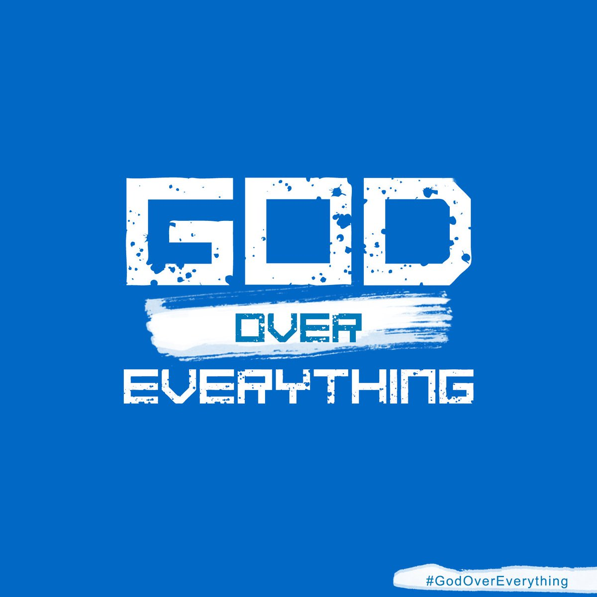 Hey Fam, join the ongoing #GodOverEverything campaign. Simply write an inspirational post and add #GodOverEverything https://t.co/kooV1Uy11N