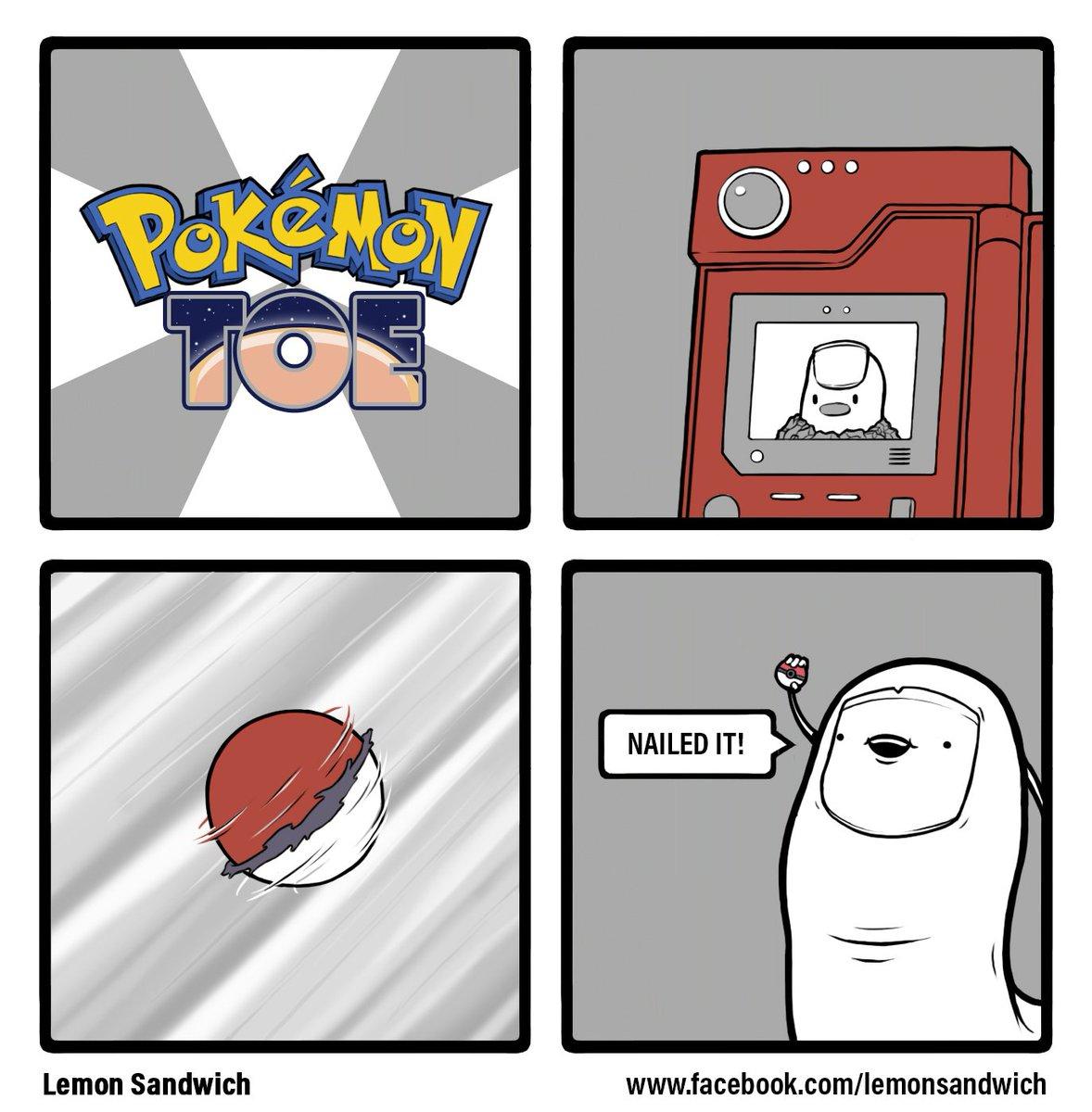 lemon sandwich on twitter pokemon toe pokemon pokemongo comic