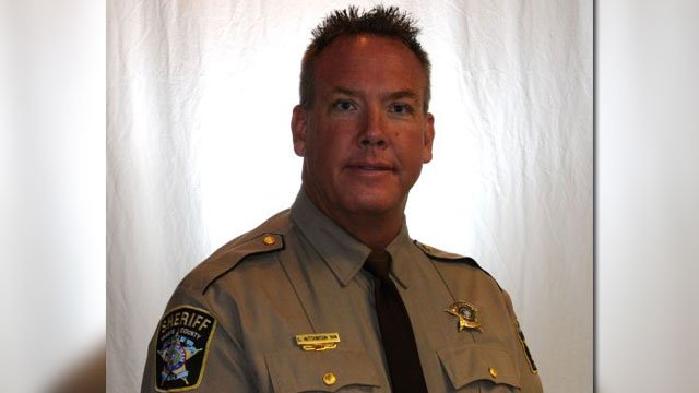 TCSO releases photo of Sgt. Craig Hutchinson. Sgt. Hutchinson was found shot in his backyard & died at the hospital.