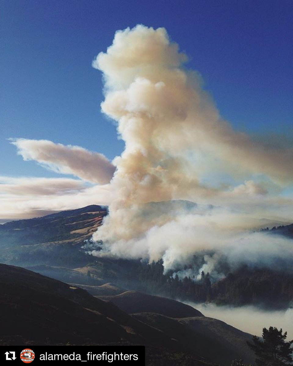 Just in - SoberanesFire in Monterey County is 14,897 acres - 5% contained. Firefighters battling tough conditions.
