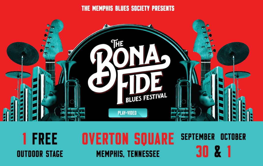 The Bona Fide Blues Festival at @overtonsquare has announced their lineup! Get tix now ->