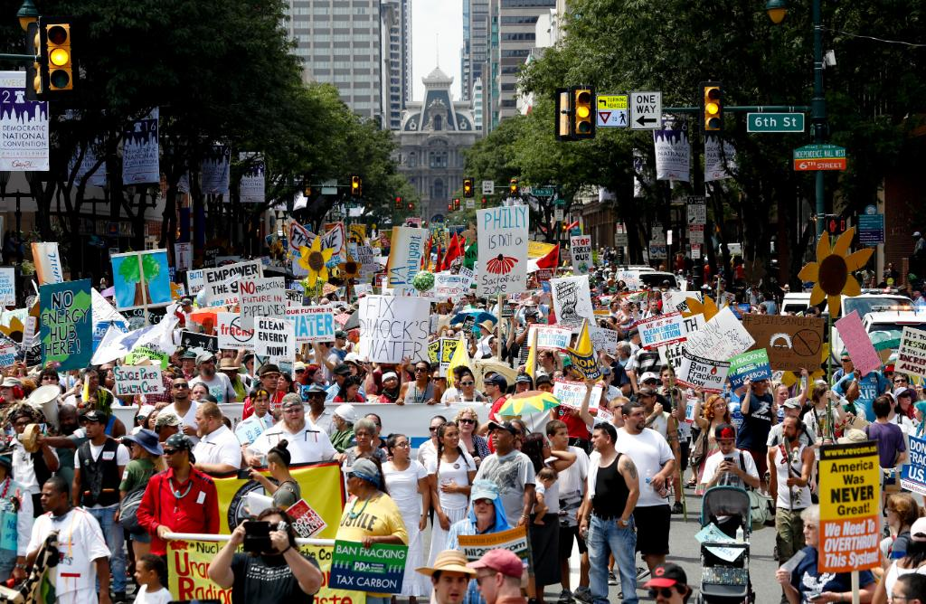 DNC starts in Philadelphia with huge protests, high tempsLiveOnFox45