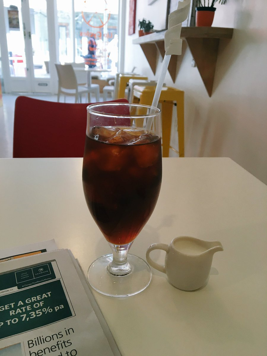 It's rare to find cold brew in South Africa, but when I do it's glorious. @BreakAwayCafeZA #CapeTown
