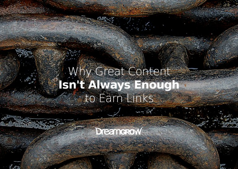 Why Great #Content Isn't Always Enough for #LinkBuilding https://t.co/U7xQ8c7Udw https://t.co/6UPdZNaC6W