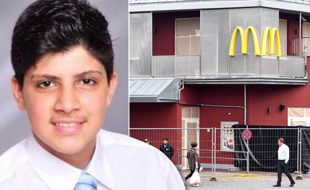 Munich police arrest 16-year-old who may have lured victims to McDonald's massacre