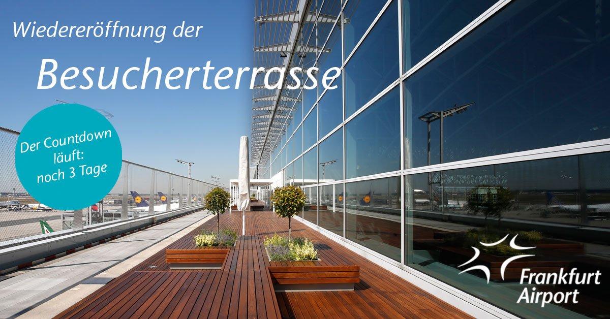 Frankfurt Airport On Twitter Am 287 Wiedereröffnung Unserer