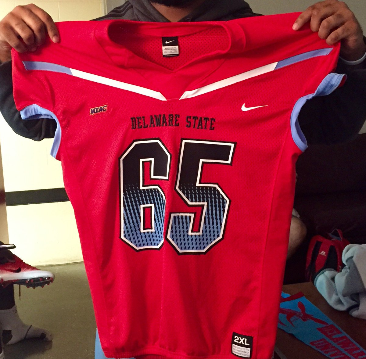 competitive price 0269b 27130 Delaware State FB on Twitter: