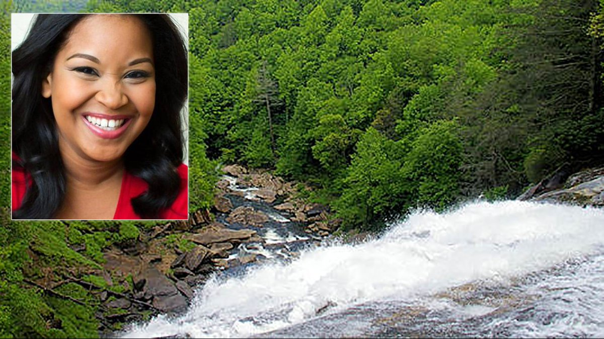 Georgia news anchor falls to death from NC waterfall