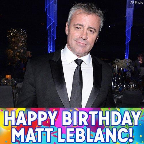 How you doin'? Happy birthday Matt LeBlanc! The 'Friends' star turns 49 today.