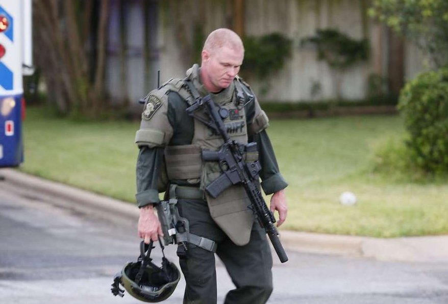 from the scene: Travis County deputy shot and killed at Round Rock home