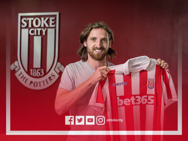 BREAKING | Stoke City are delighted to announce the signing of Joe Allen from @LFC on a 5-year deal #SCFC
