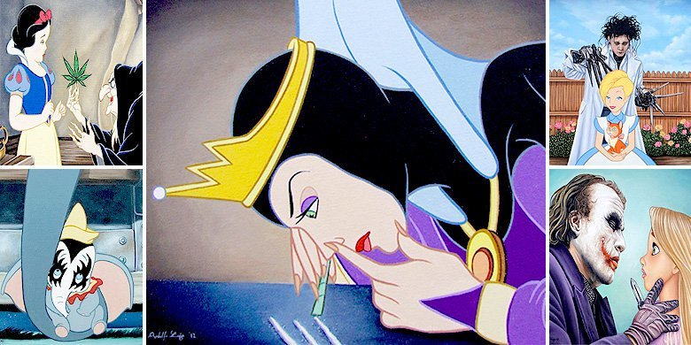 DisHollywood – José Rodolfo Loaiza Ontiveros' Pics Of Disney Characters Misbehaving https://t.co/j10bsOXm0k https://t.co/a6YS8PDd7T