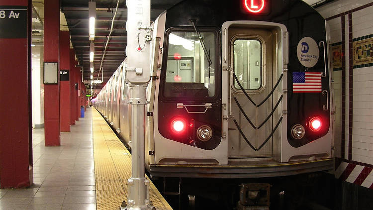 The L train will shut down for 18 months in 2019