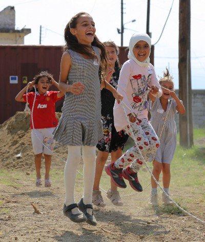 Kids being kids: IRC organizes games for refugee children in Greece to help cope w/ trauma https://t.co/0bIyCqUrZz https://t.co/OV50jb7hmM