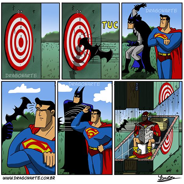 Superman, Spiderman, Batman - superheros or misleading idols?