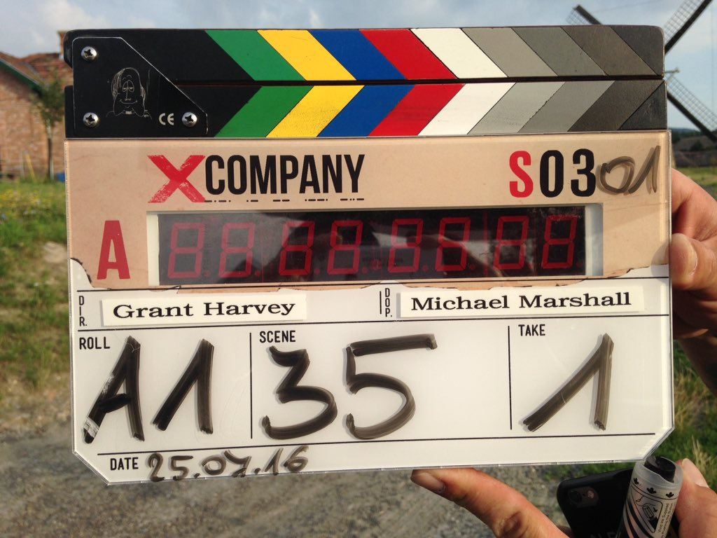 And we're rolling! Season 3 of #XCompany begins filming in Budapest today!