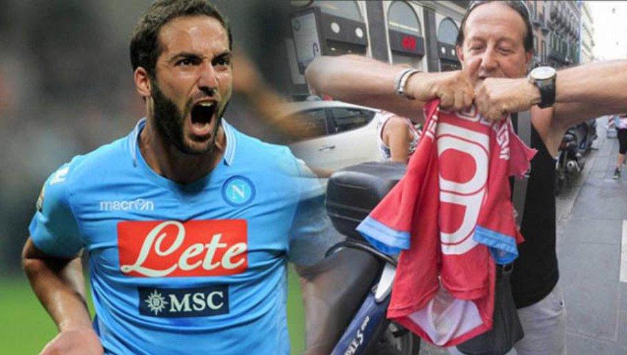 Higuain alla Juventus: la reazione dei tifosi napoletani (FOTO)