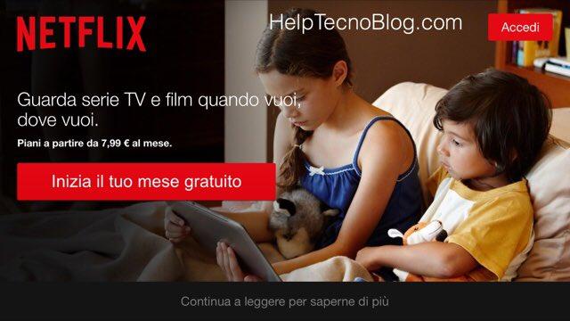 Come vedere Netflix su vecchie tv