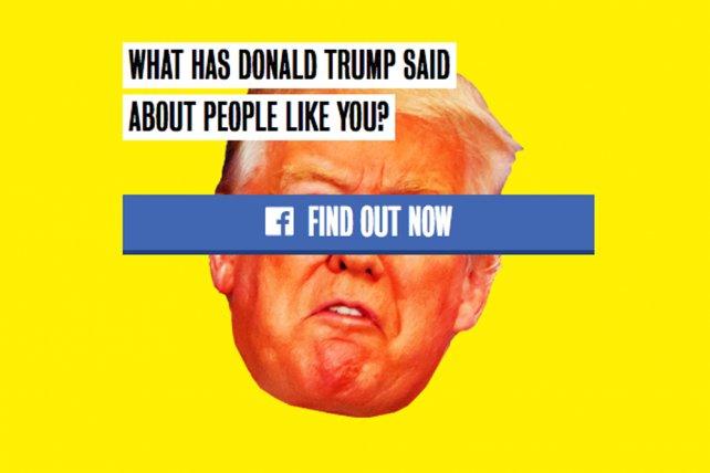 ICYMI: Clinton's silly TrumpYourself Facebook app has a serious data-collection purpose https://t.co/MRBwZbLM7s https://t.co/ZJ3LFbvDTl