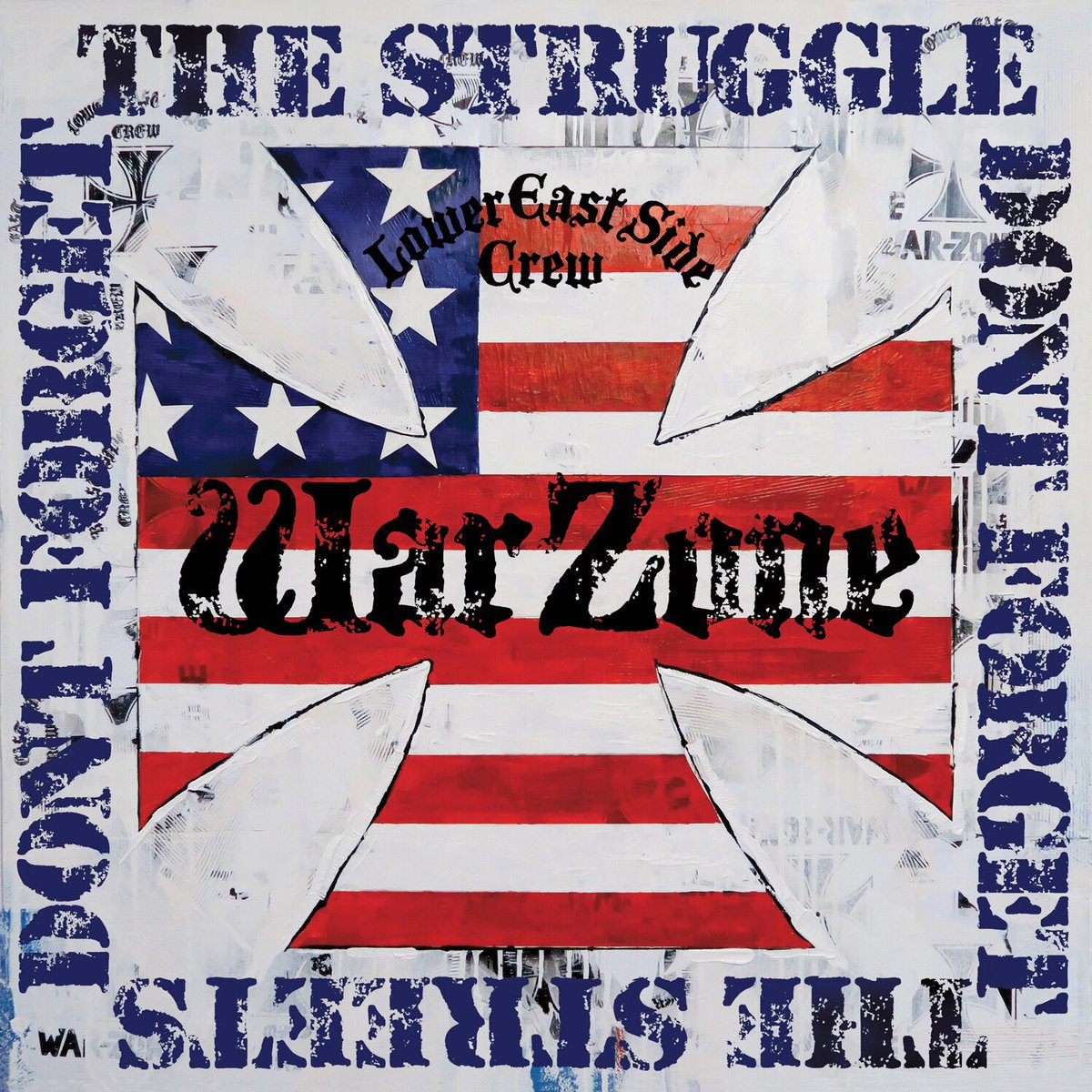 "Warzone's 1987 debut LP ""Don't Forget The Struggle, Don't Forget The Streets,"" will be re-released on September 16th https://t.co/1XmhsRzcMN"