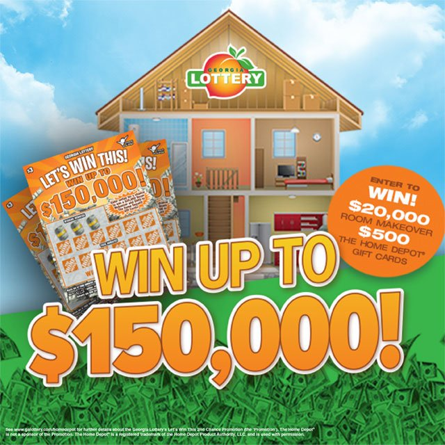 Georgia Lottery On Twitter Enter Your Let S Win This Tickets To A 20k Home Makeover Or 500 Depot Gift Card Https T Co Xthhudg8bp