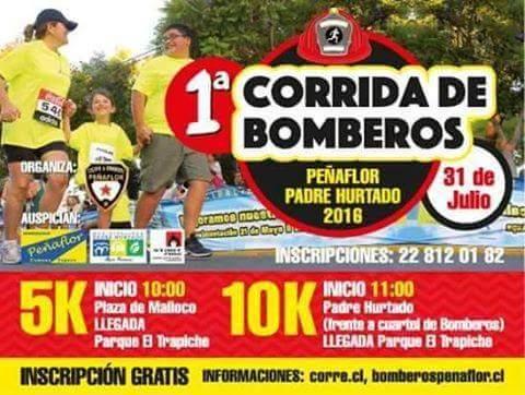 corrida bomberos peñaflor ca3bkn