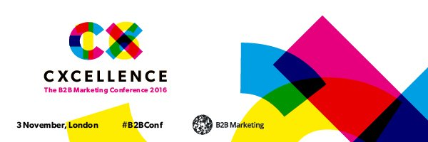 Are you an expert in CX? Come speak at CXcellence on 3 November https://t.co/4A5HcW2j2H #B2BConf https://t.co/plc5DedJyg