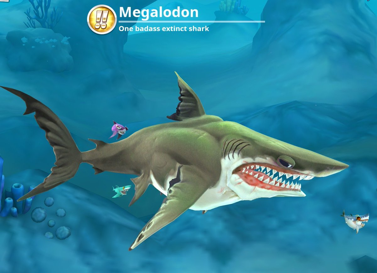 Hungry shark world on twitter its megalodon monday if you own hungry shark world on twitter its megalodon monday if you own the megalodon its your chance to get up to 100 gems in todays live event altavistaventures Image collections